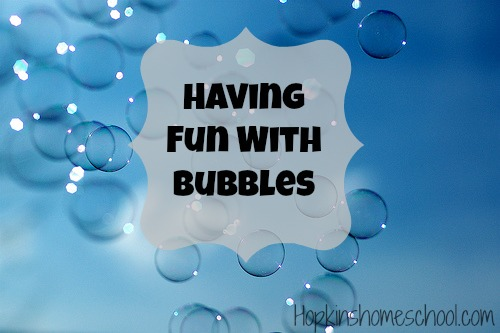 Having Fun With Bubbles