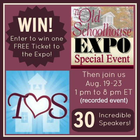 The Old Schoolhouse Expo and GIVEAWAY