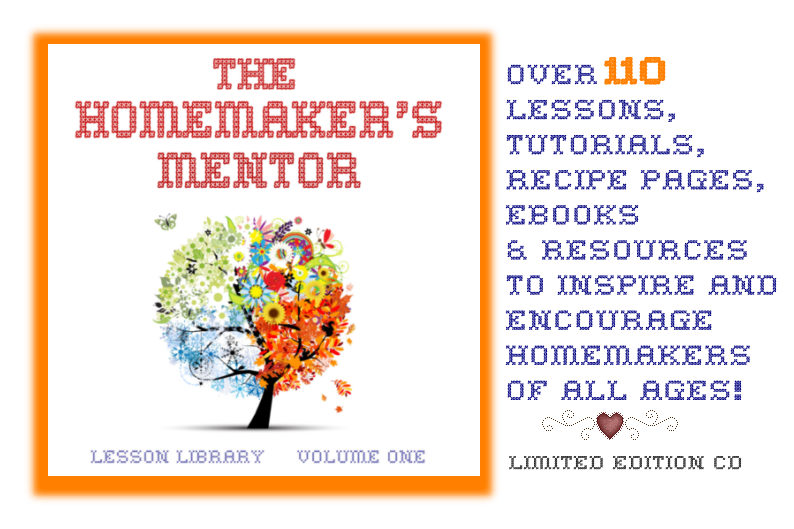 The Homemaker's Mentor: Review and Giveaway