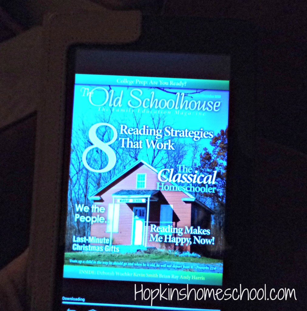 The Old Schoolhouse Magazine ~ Review