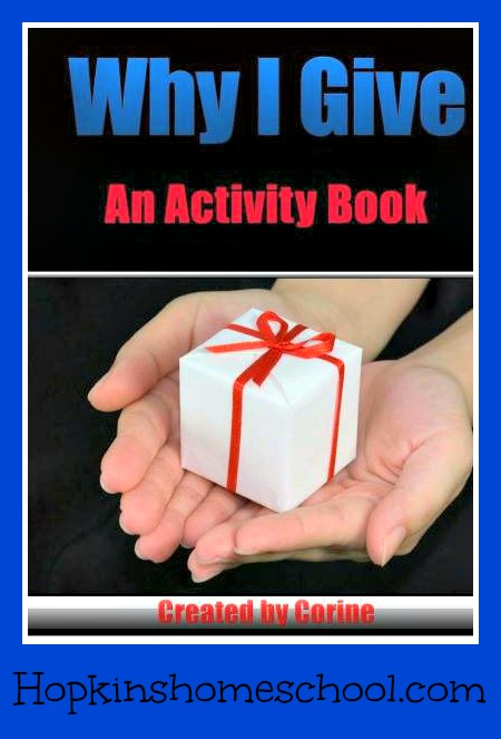 Why I Give Activity Book ~ Review
