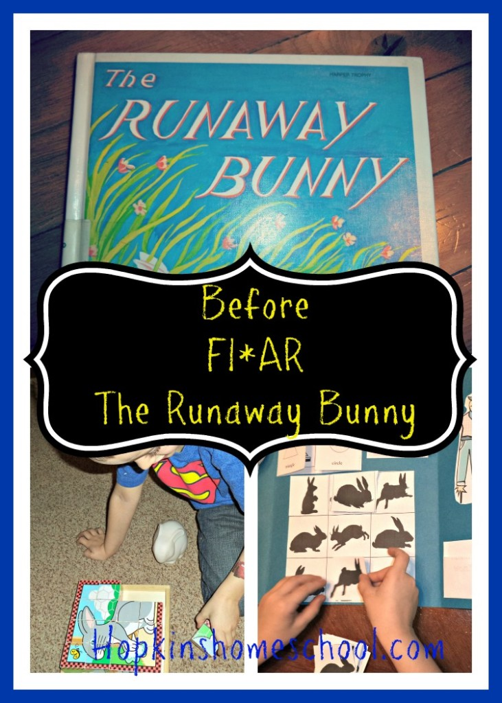 Before Five In A Row ~ The Runaway Bunny