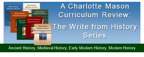 Write From History Curriculum Review