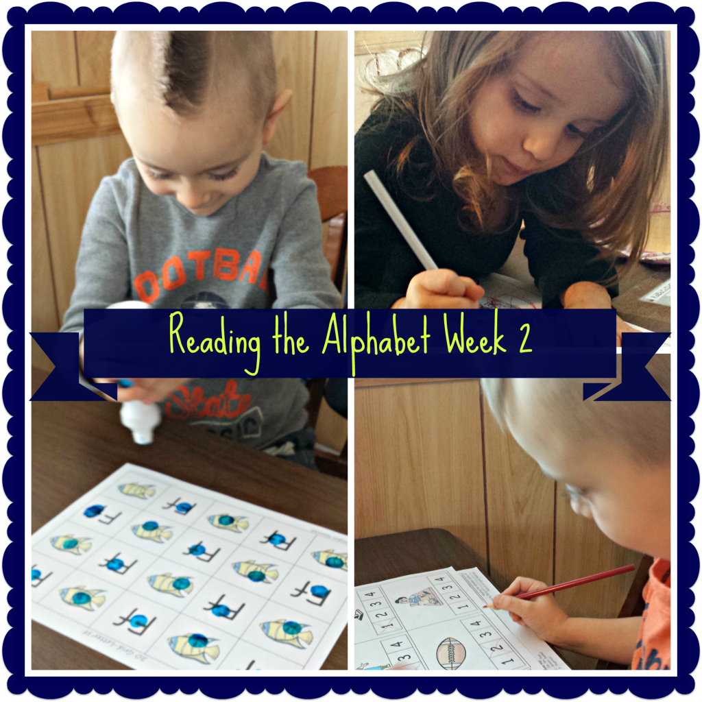 Reading the Alphabet Week 2