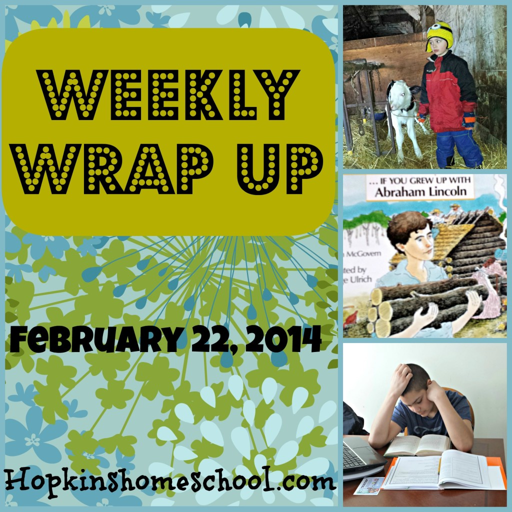 Weekly Wrap Up ~ February 22, 2014