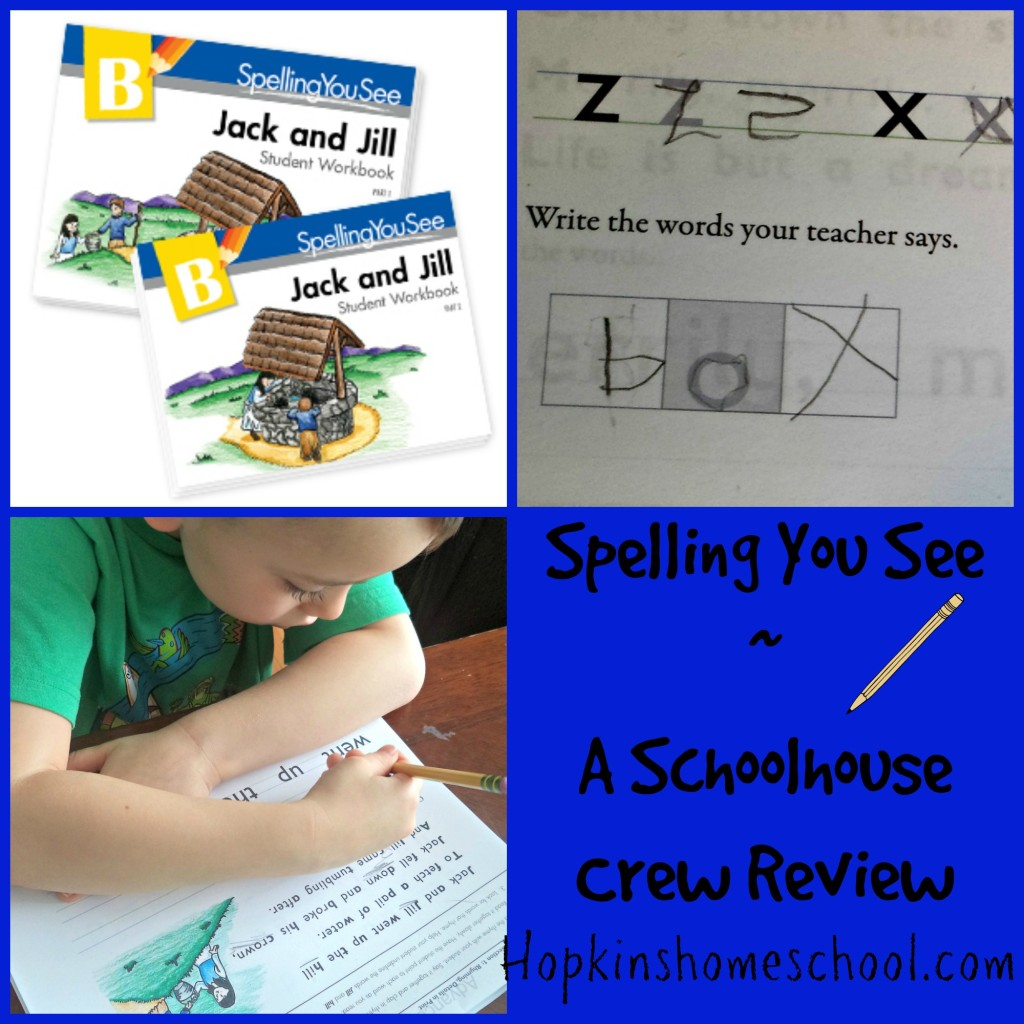 Spelling You See ~ A Schoolhouse Crew Review