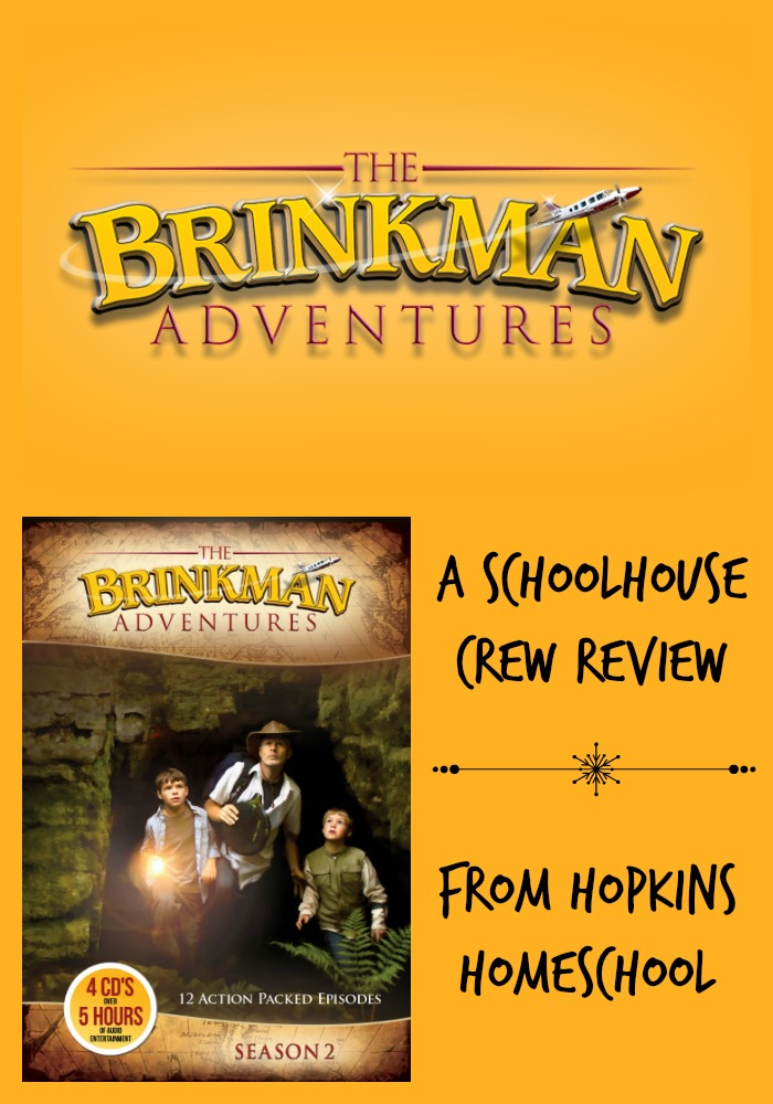 The Brinkman Adventures ~ A Schoolhouse Crew Review