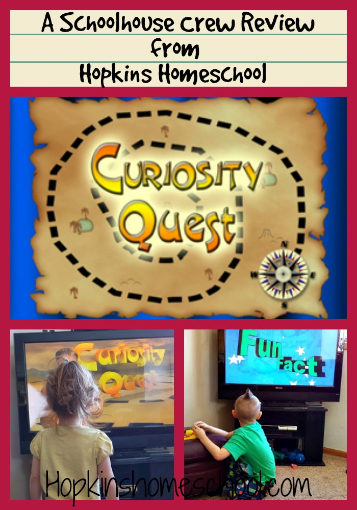 Curiosity Quest ~ A Schoolhouse Crew Review