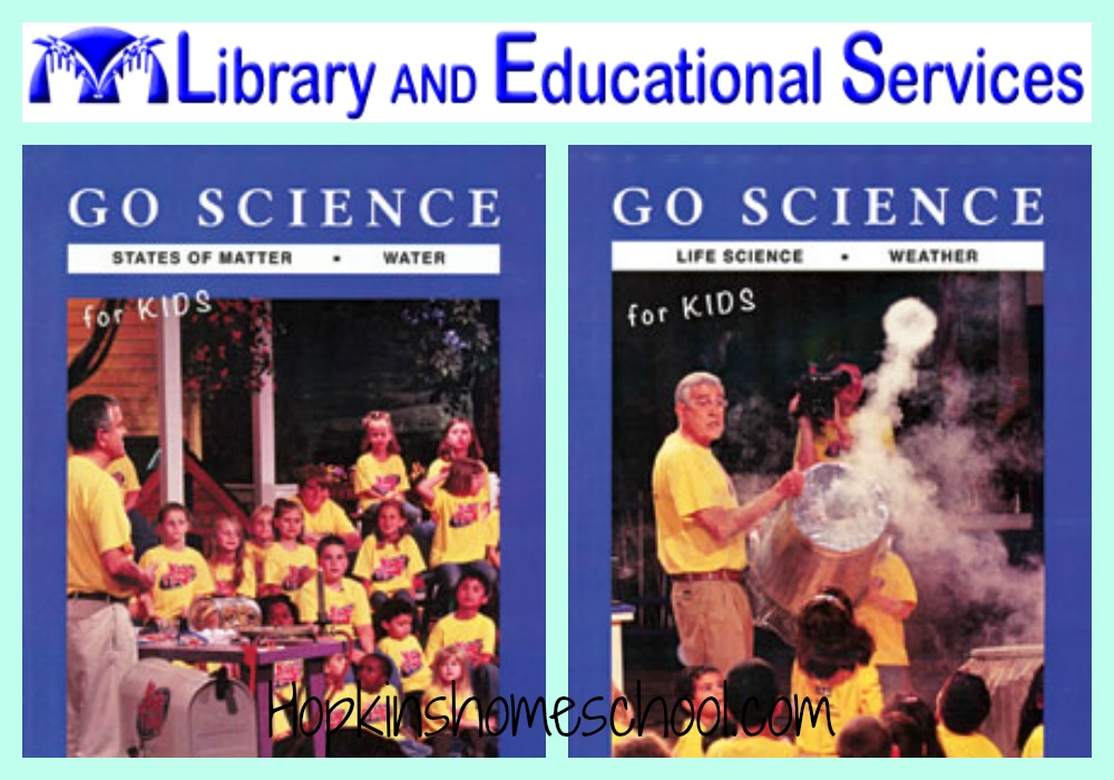 Go Science DVDs ~ A Schoolhouse Crew Review