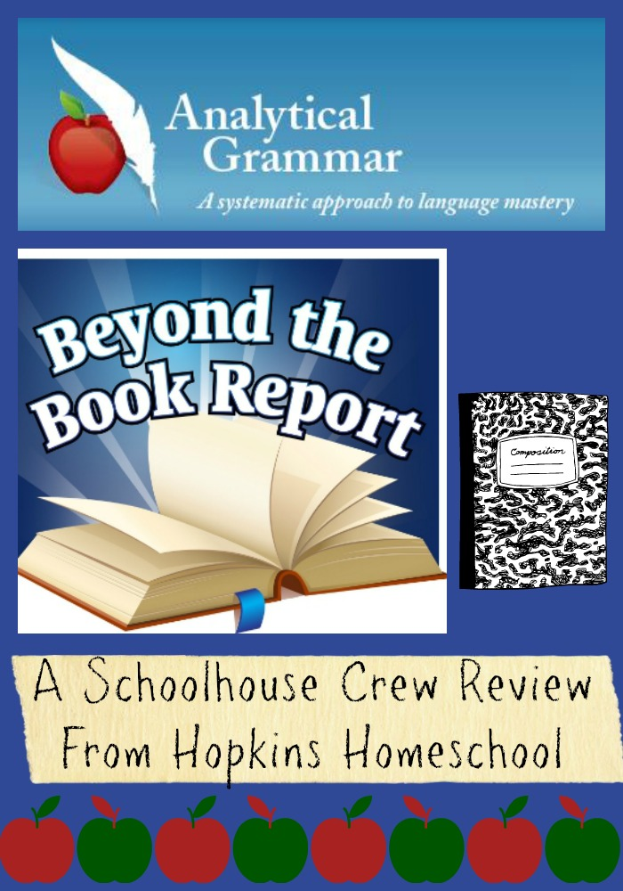 Analytical Grammar ~ A Schoolhouse Crew Review