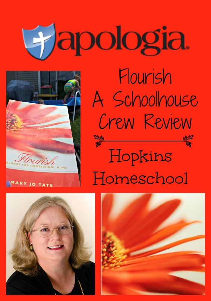 Flourish: Balance for the Homeschool Mom ~ A Schoolhouse Crew Review