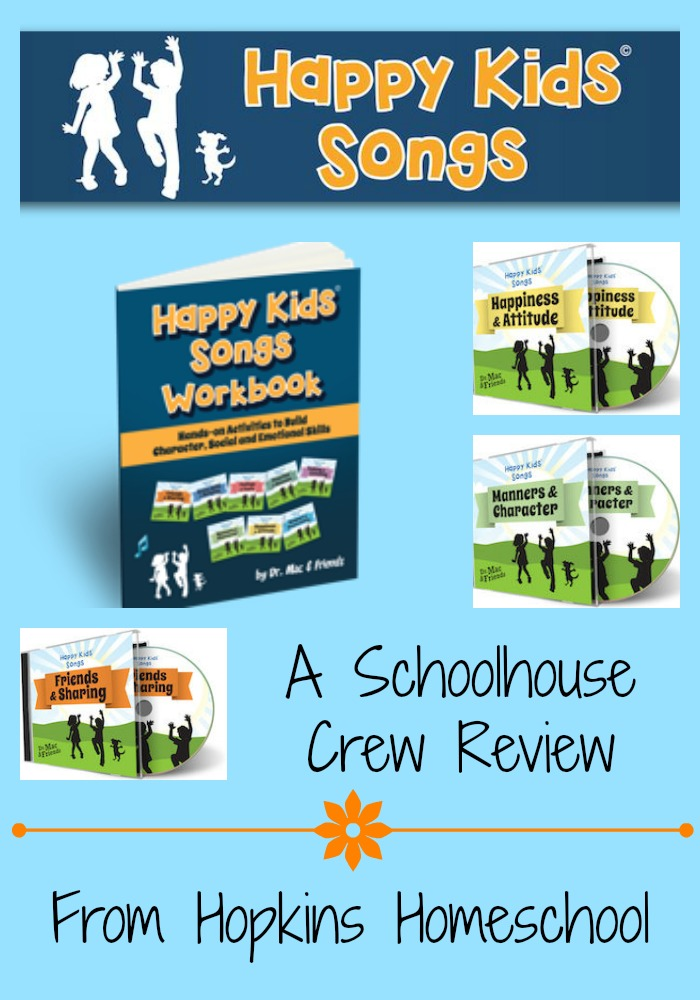 Happy Kids Songs ~ A Schoolhouse Crew Review