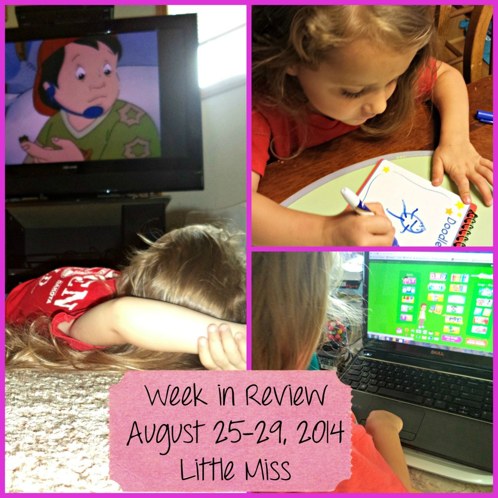 Our Week in Review ~ August 25-29, 2014