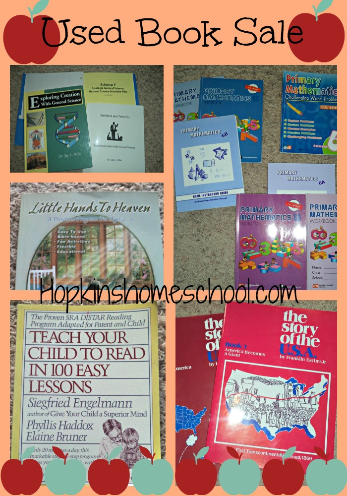 Used Homeschool Books for Sale