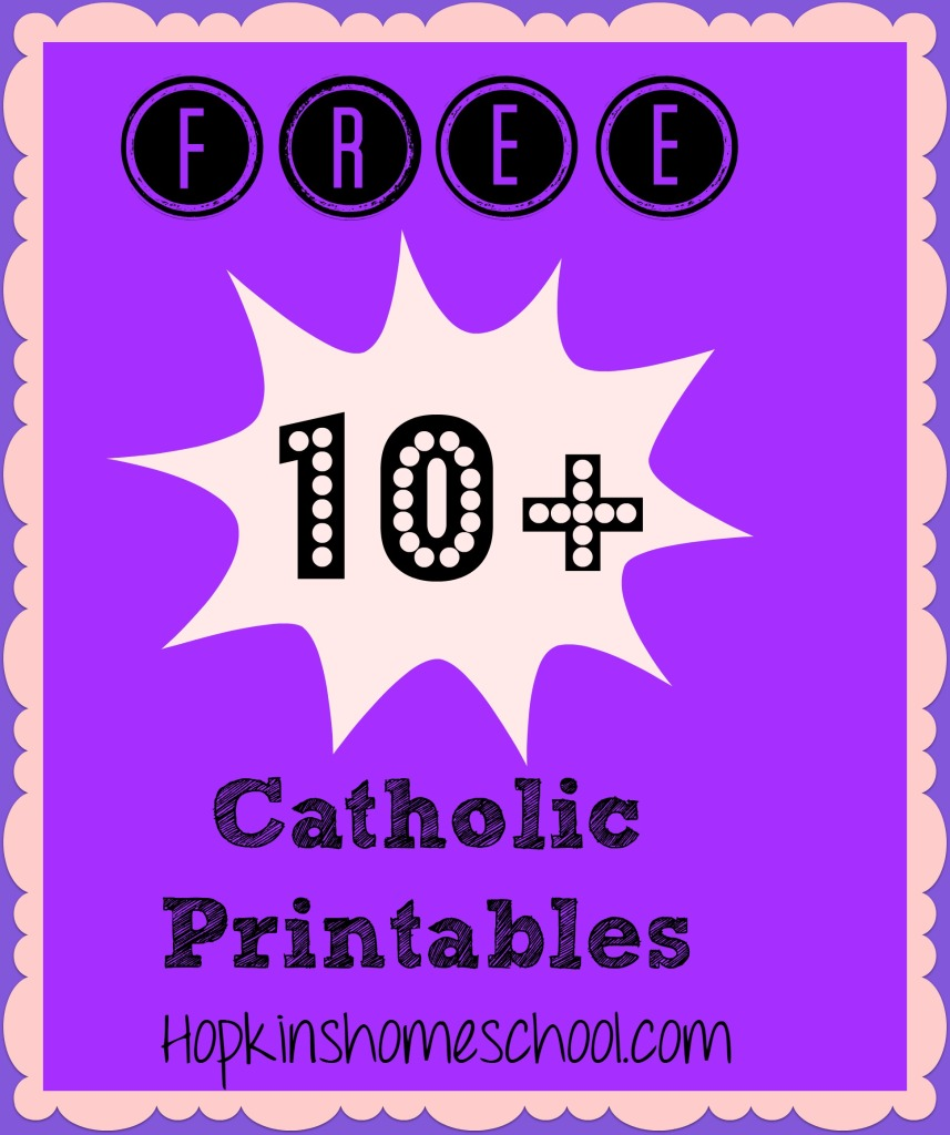 10+ FREE Catholic Printables