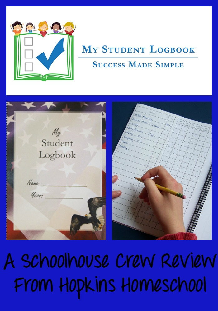 My Student Logbook ~ A Schoolhouse Crew Review