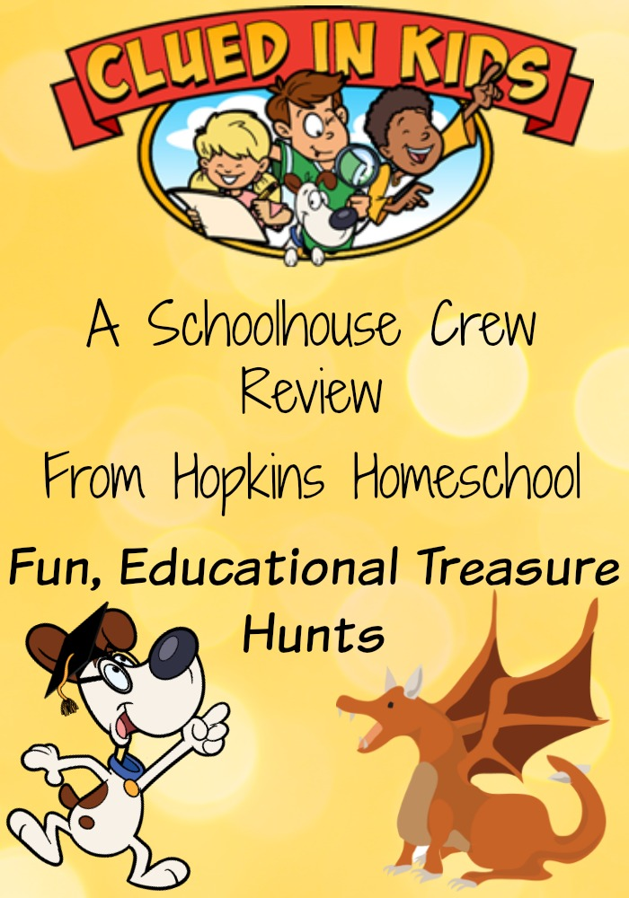 Treasure Hunts for Kids ~ A Schoolhouse Crew Review