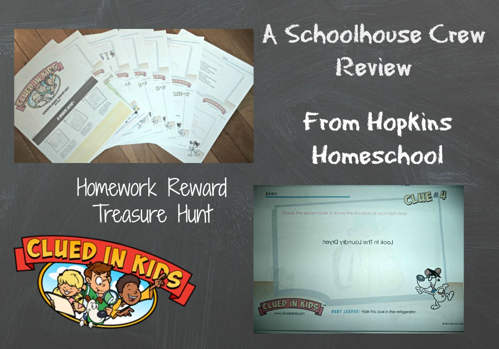 Homework Reward Treasure Hunt
