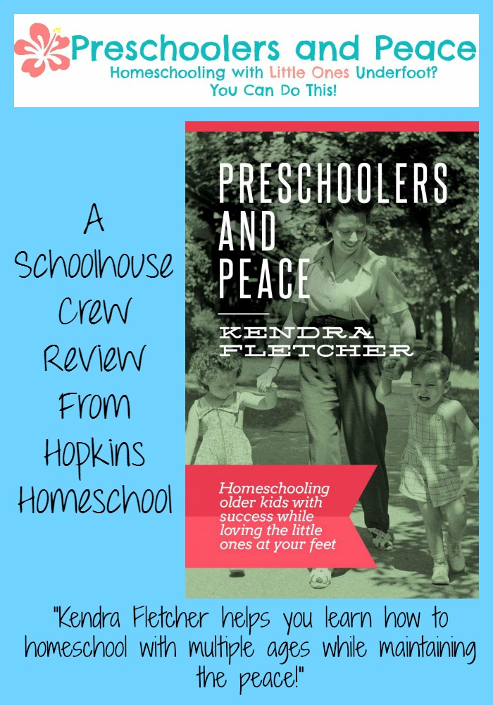 Preschoolers and Peace ~ A Schoolhouse Crew Review