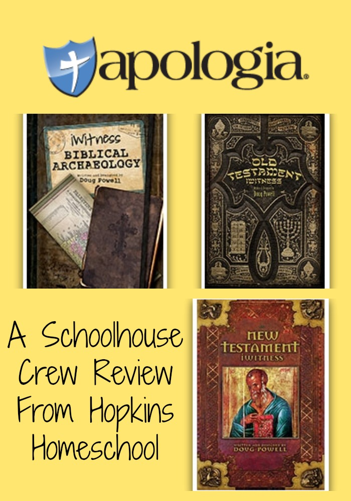 Apologia iWitness Books Schoolhouse Crew Review