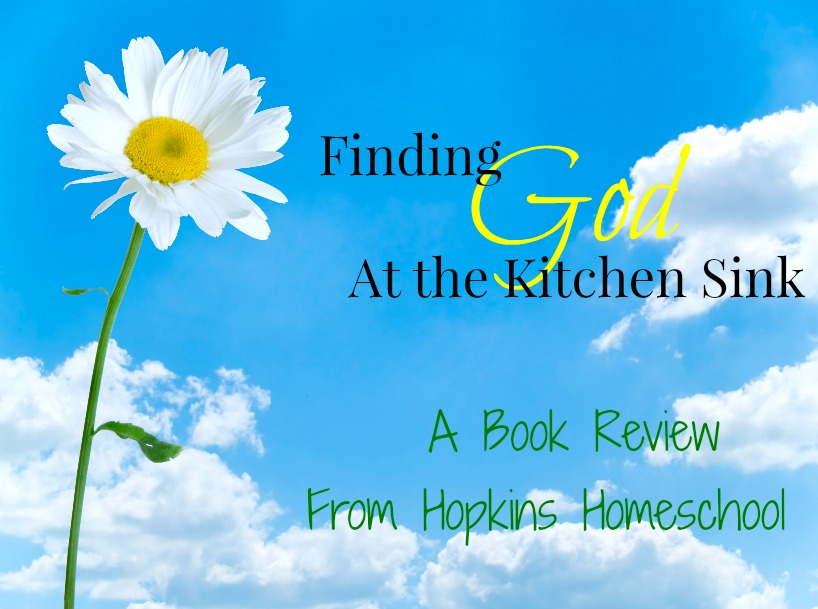 Finding God at the Kitchen Sink - A book review
