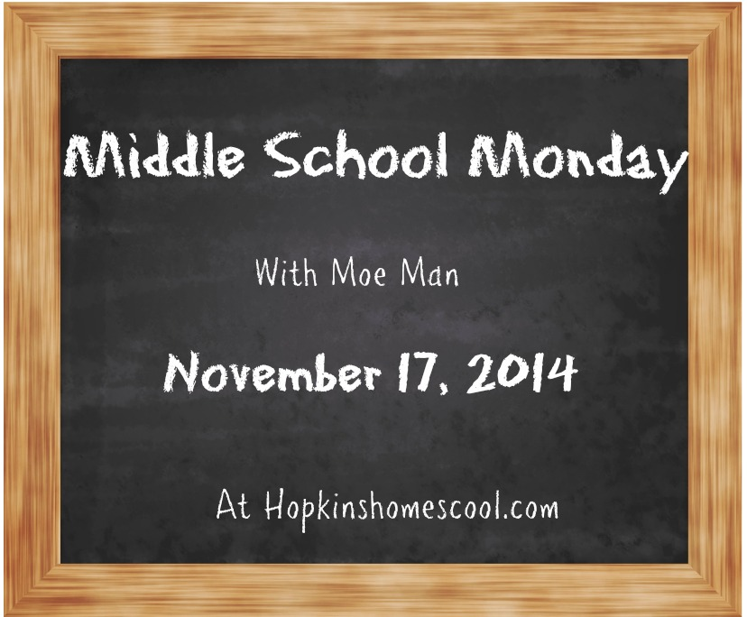 MiddleSchoolMonday - Novemeber 17
