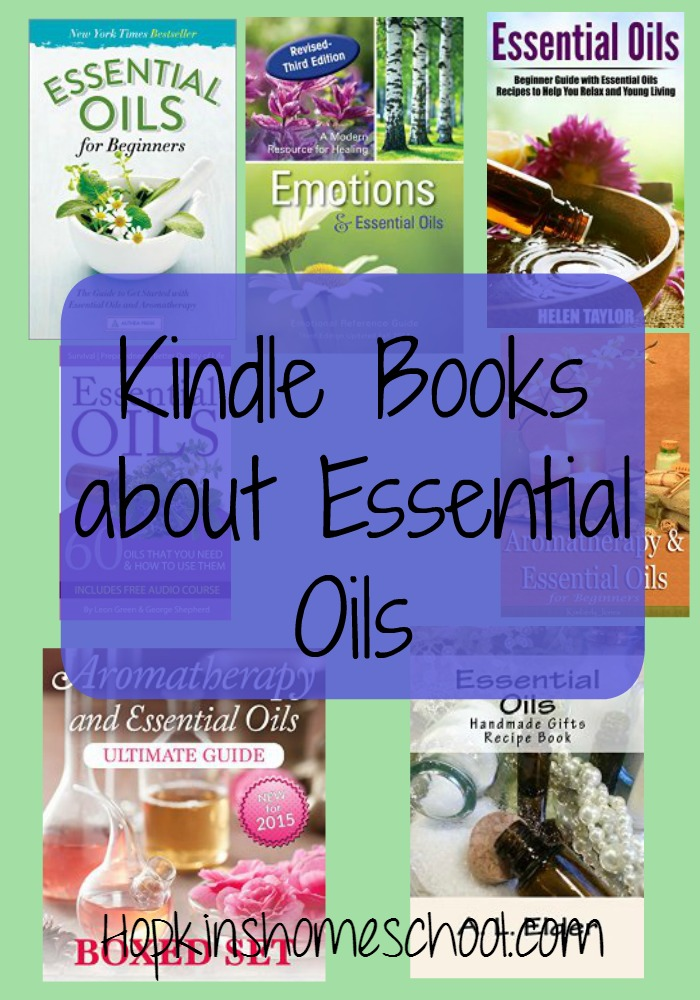 Essential Oil Books for Your Kindle