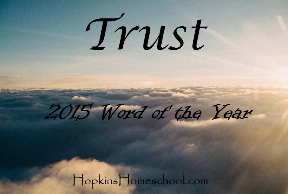Trust ~ 2015 Word of the Year