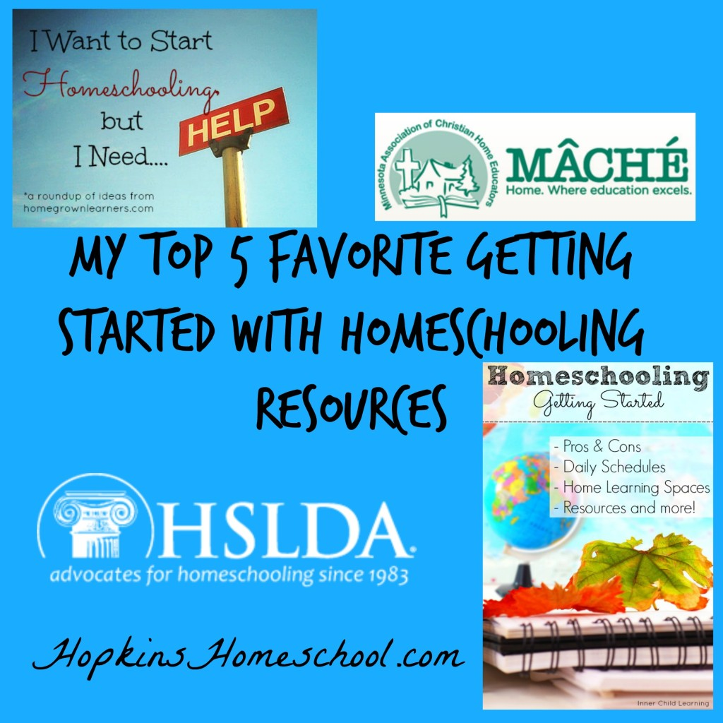 Top 5 Starting Homeschool Resources