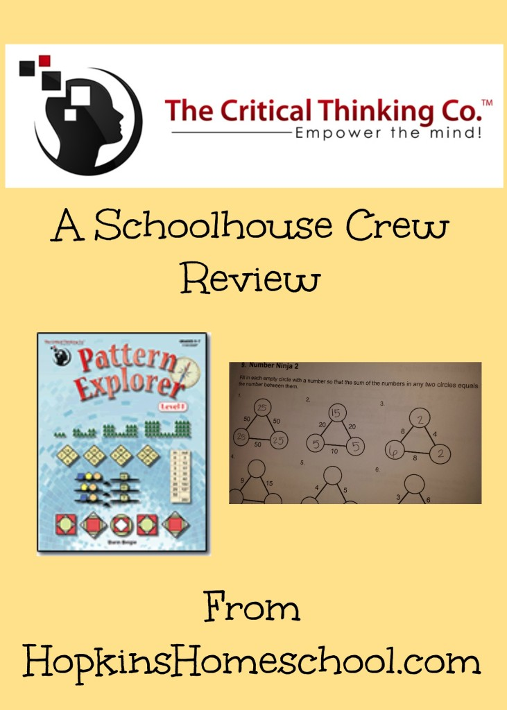 The Critical Thinking Co. ~ A Schoolhouse Crew Review