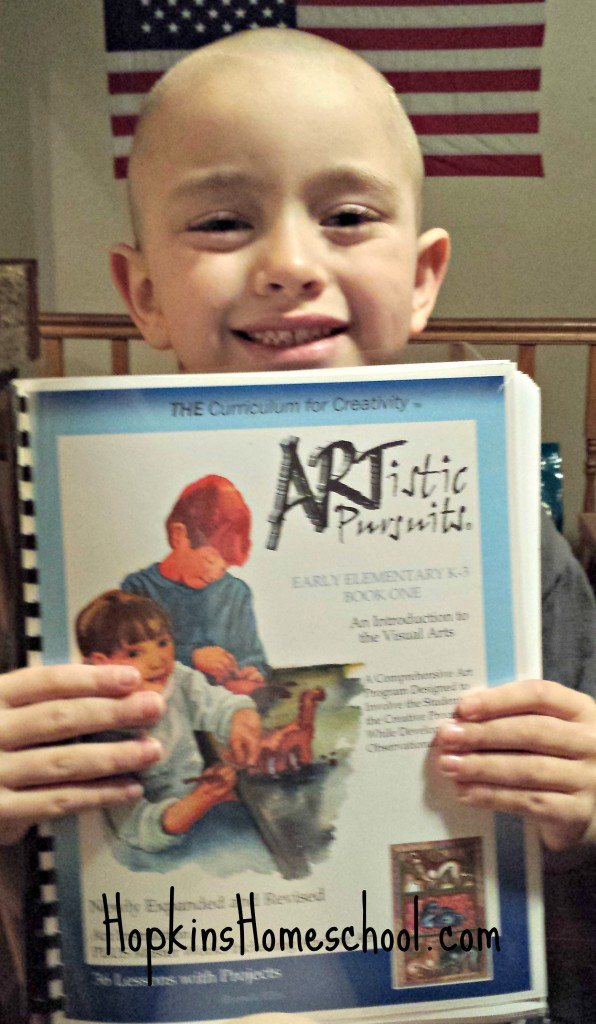 ARTistic Pursuits Early Elementary Book 1 ~ A Schoolhouse Crew Review