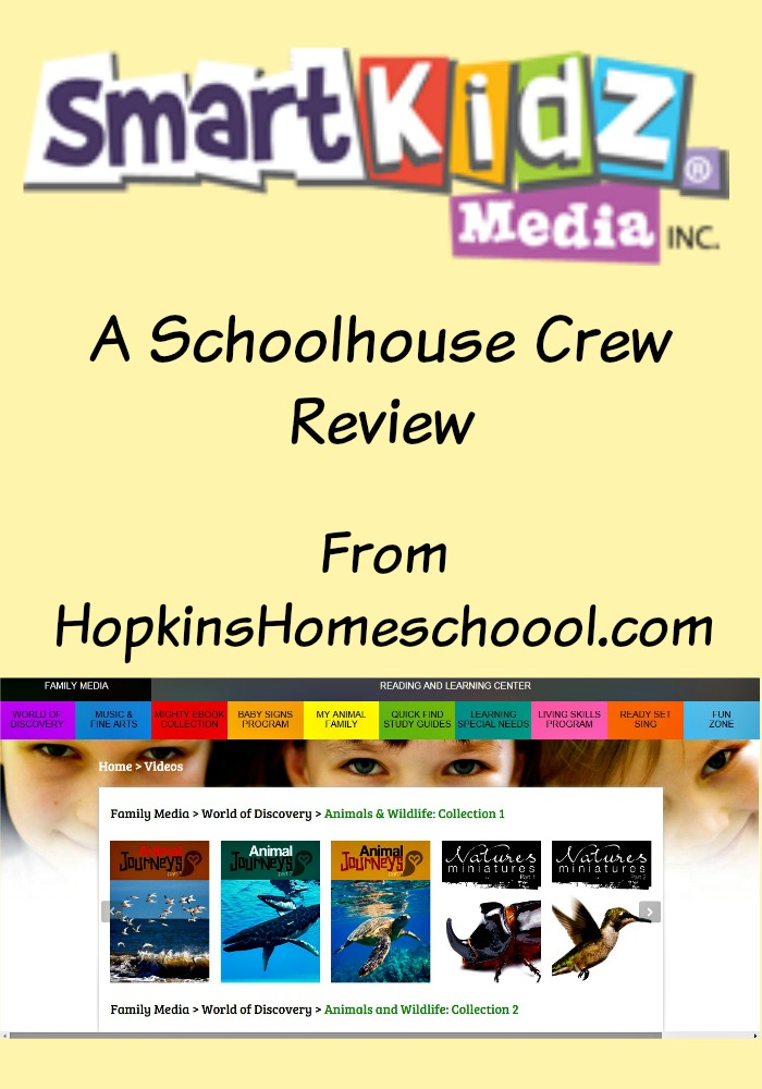 SmartKidz Media ~ A Schoolhouse Crew Review