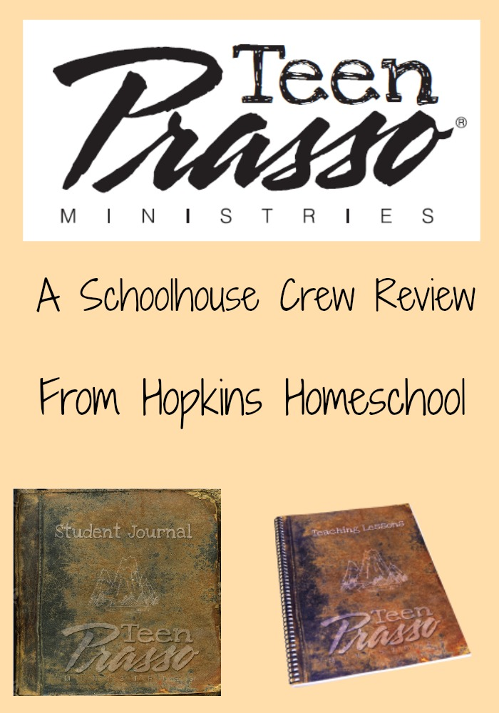 Teen Prasso Bible Study ~ A Schoolhouse Crew Review