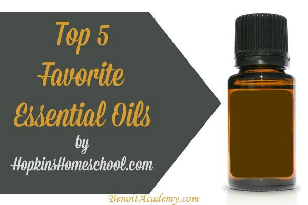 My Top 5 Essential Oils