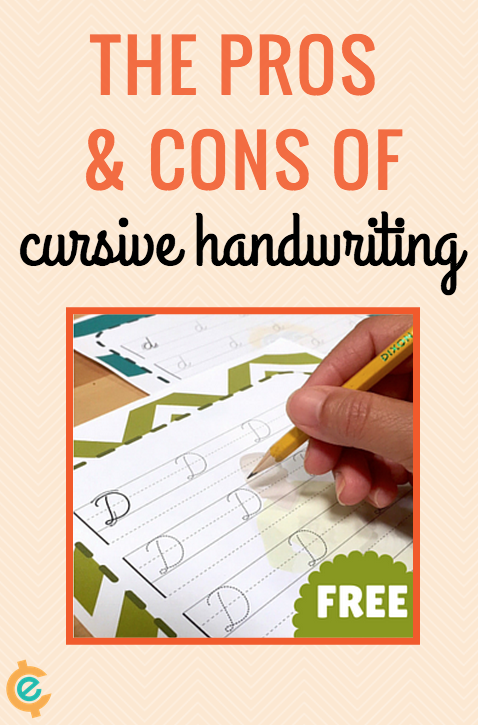 The Pros and Cons of Cursive