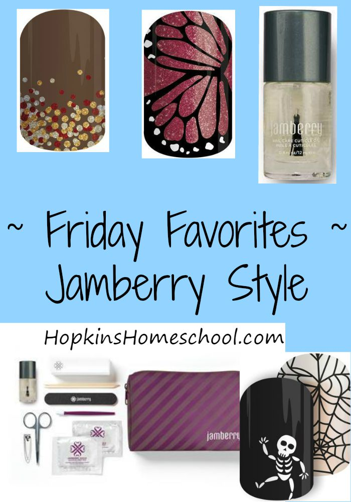 Friday Favorites ~ Jamberry Wraps