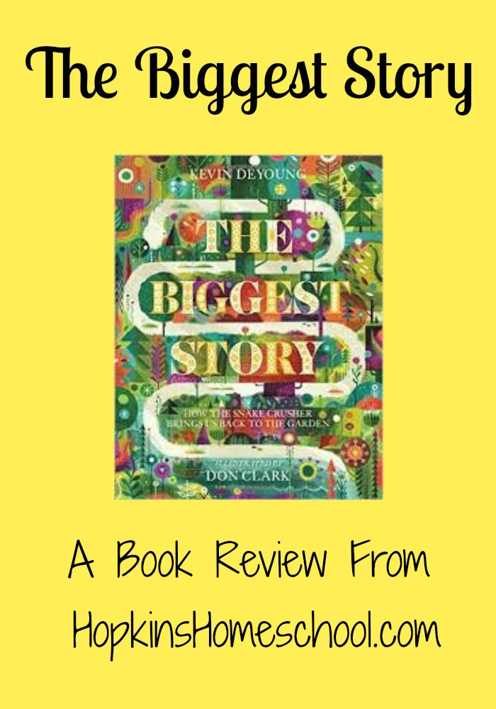 The Biggest Story ~ A Book Review and GIVEAWAY