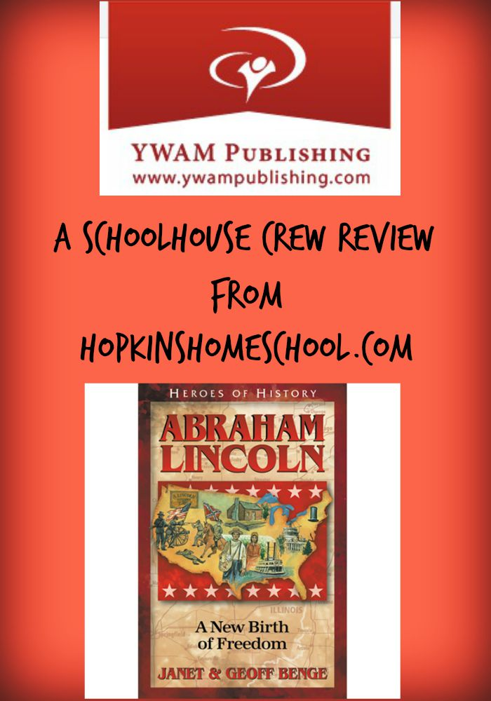 YWAM Publishing ~ A Schoolhouse Crew Review