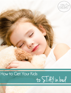 How to get your kids to sleep