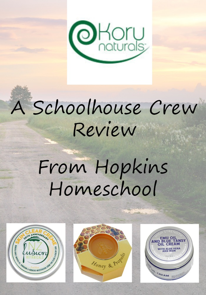 Koru Naturals and Blue Tansy Cream ~ A Schoolhouse Crew Review