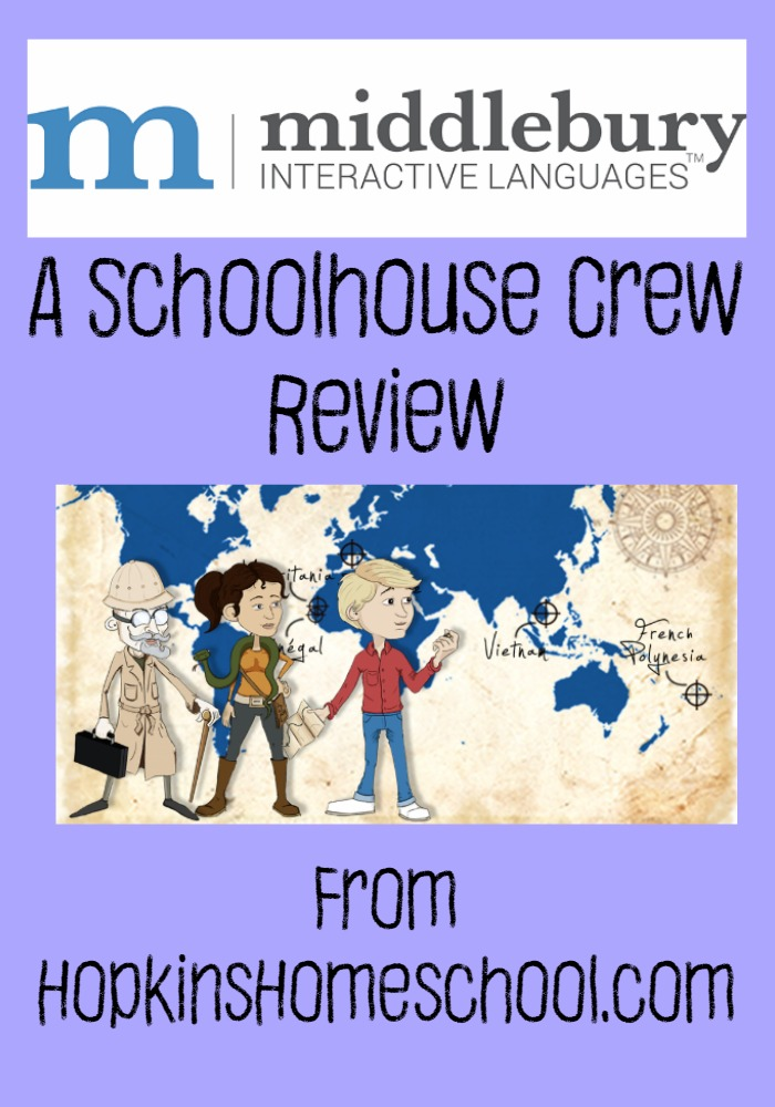 Middlebury Interactive Languages ~ A Schoolhouse Crew Review