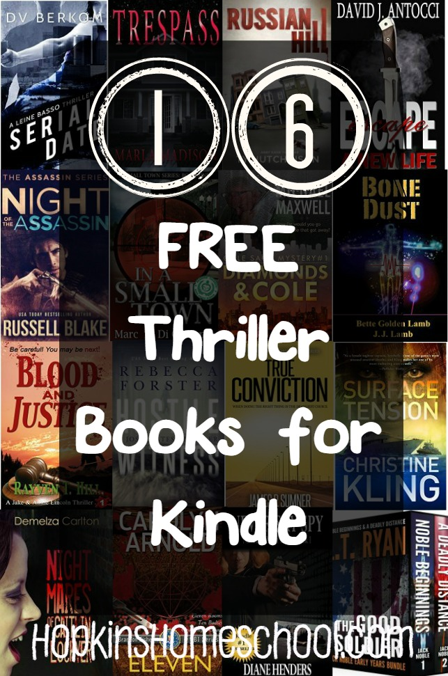 Thriller Thursday ~ October 22, 2015