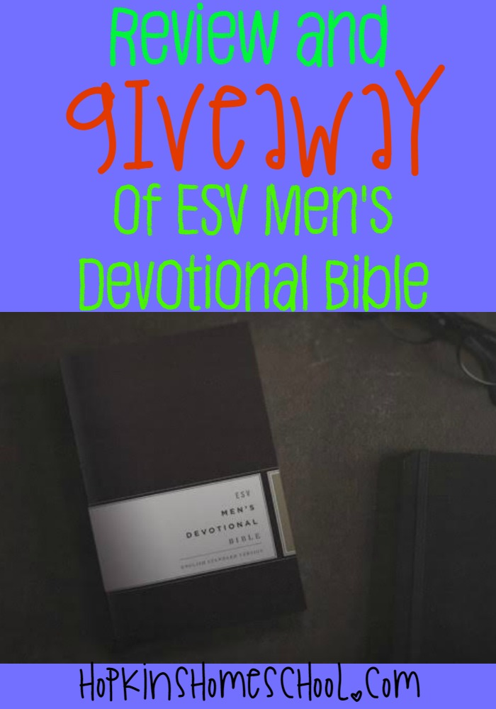 EVS Men's Devotional Bible Review