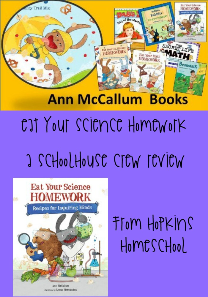 Eat Your Science Homework ~ A Schoolhouse Crew Review