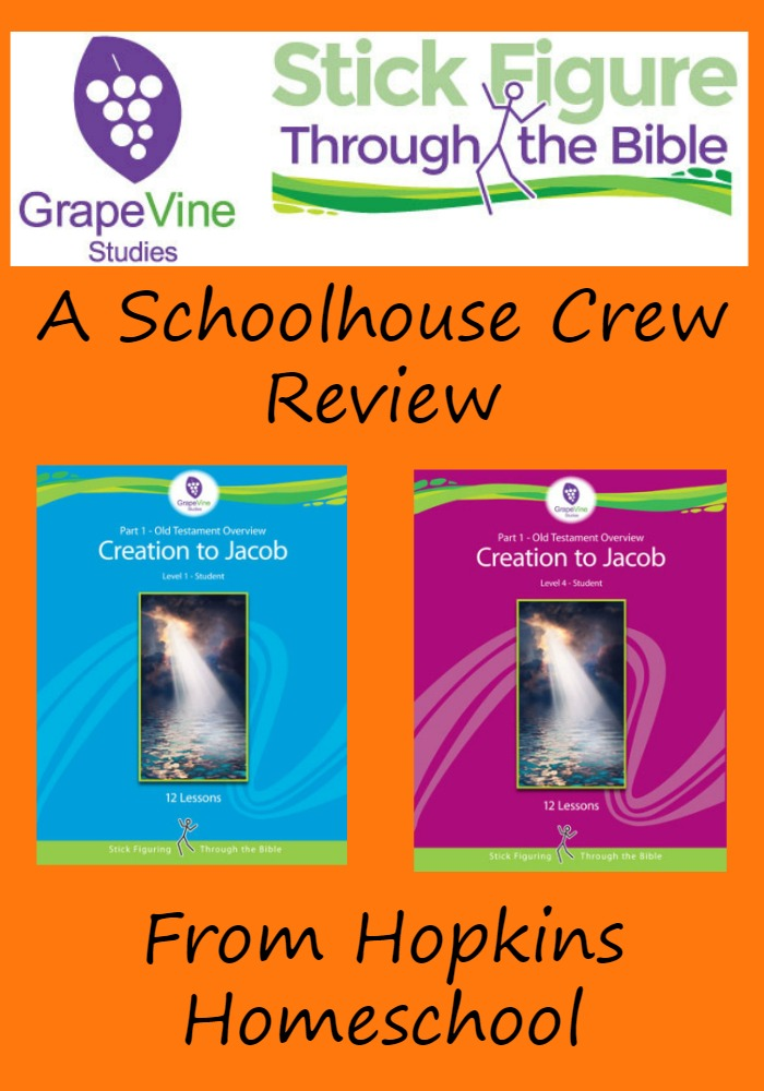 Grapevine Studies Old Testament 1 ~ A Schoolhouse Crew Review