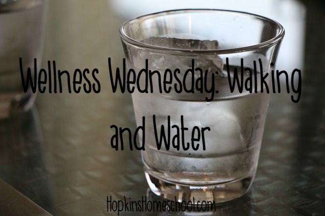 Wellness Wednesday ~ Walking and Water