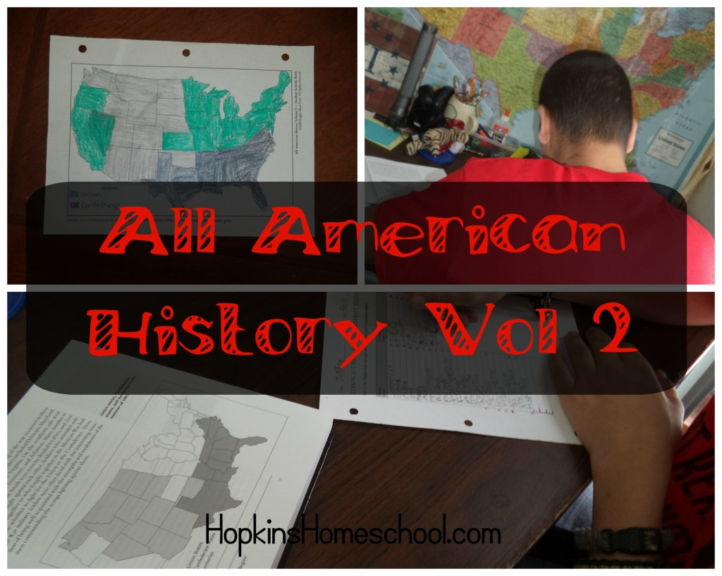 Civil War Study with All American History