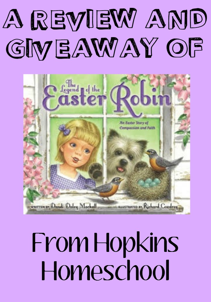 The Legend of the Easter Robin ~ Review and GIVEAWAY