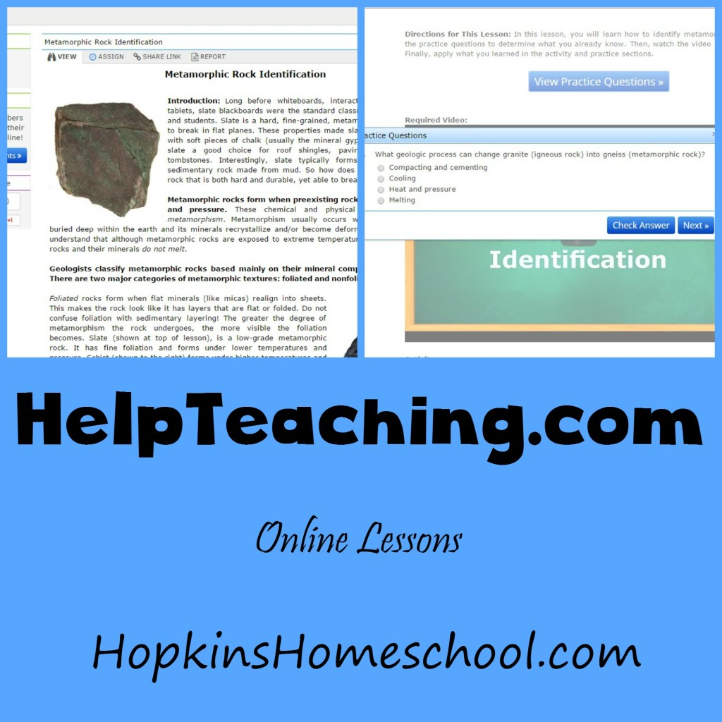 HelpTeaching.com ~ A Schoolhouse Crew Review