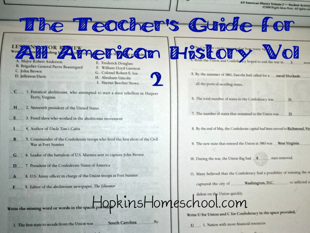 Teachers guide AAH2